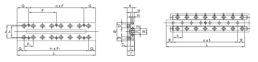 SBC LINEAR Cross Roller Guide SCVRT 1-A