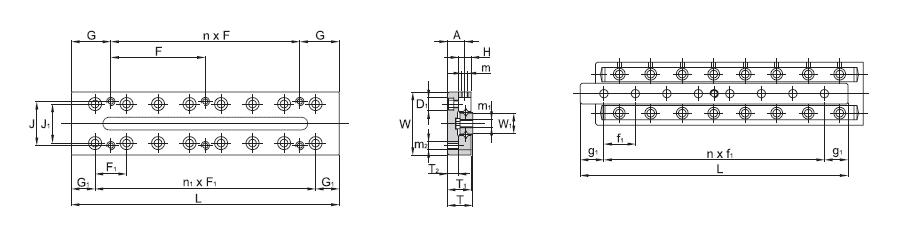 SBC LINEAR Cross Roller Guide SCVRT 3