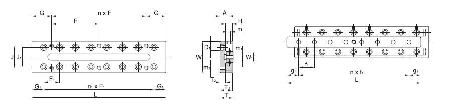 SBC LINEAR Cross Roller Guide SCVRT 1