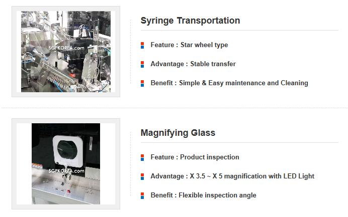 Segae Precision Semi-auto Inspection M/C