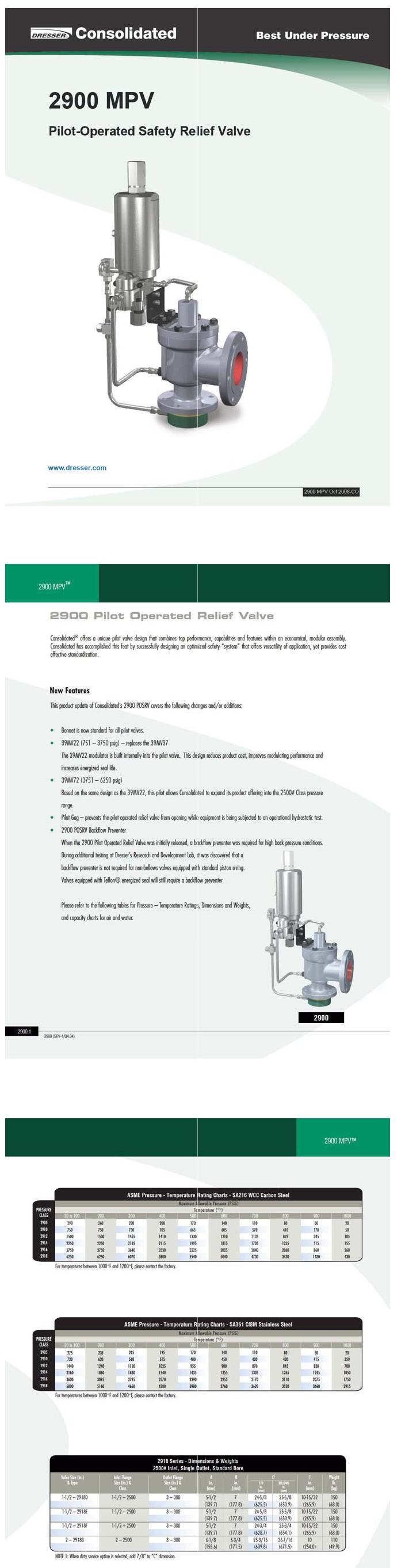 세준산업 2900 MPV Modular Pilot-Operated [Safety Relief Valve]