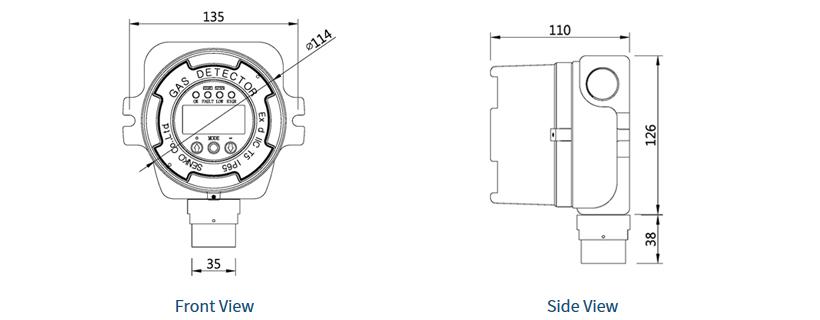 SENKO Fixed / Smoking Meter SI-100 1