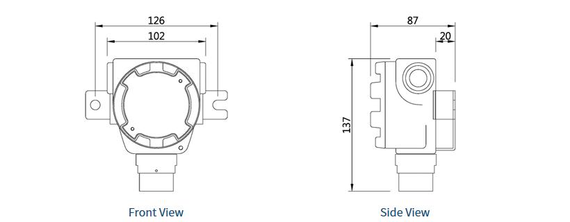 SENKO Fixed / Non-directive Probe Field SI-100C 1