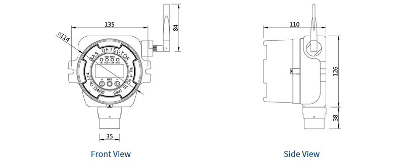 (주)센코 고정식 / Wireless SI-100 1