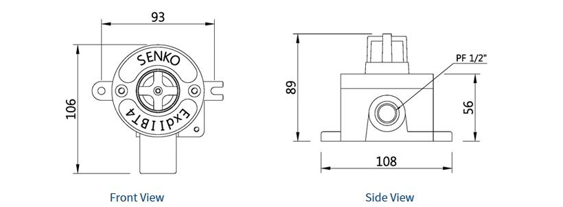 SENKO Fixed / Gas Leak Detector (Entry) SI-100D 1