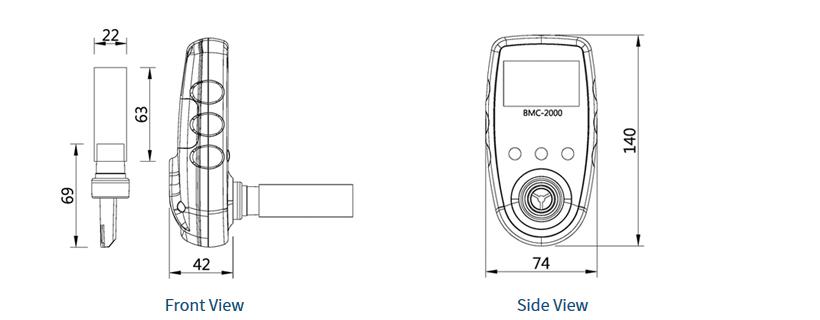 SENKO Portable / Smoking Meter BMC-2000 1