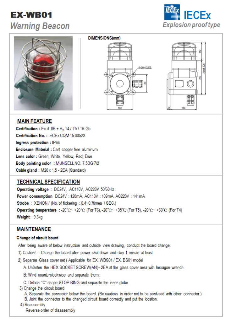 SEUN Warning Beacon EX-WB01