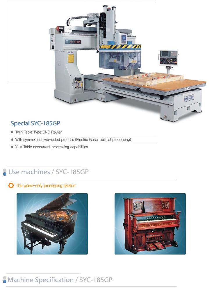 SEYOON NST CNC Skelton M/C SYC-185GP