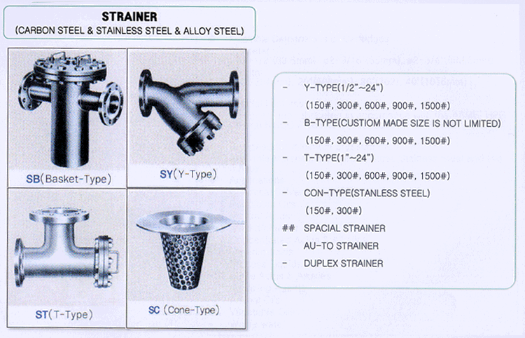 Seyoung Petro Filter Corporation Strainer