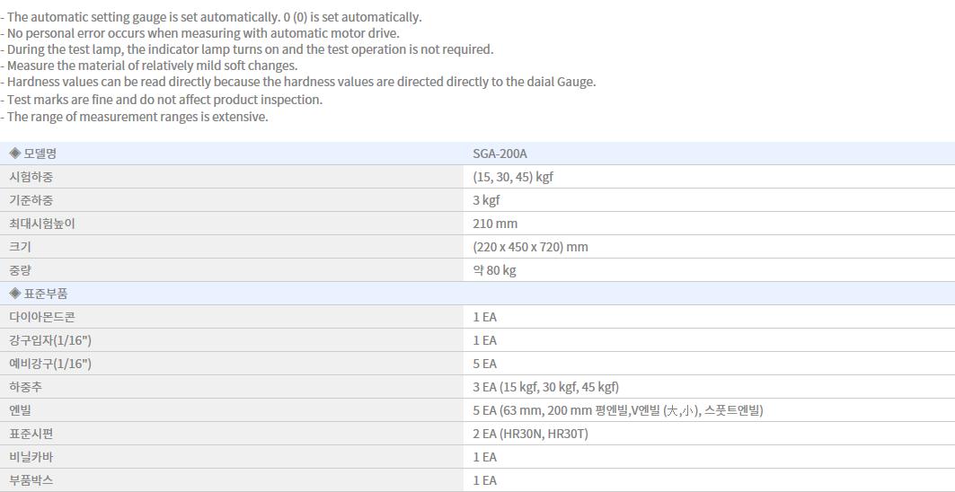 Shin Gang Precision Rockwell Hardness Tester SGA-200A