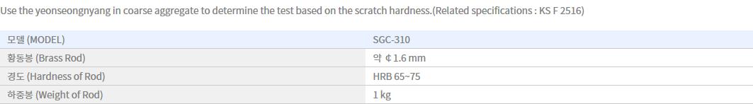 Shin Gang Precision Scratch Harness Tester SGC-310