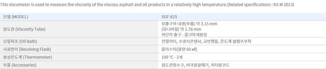 Shin Gang Precision Saybolt Viscosimeter SGF-615