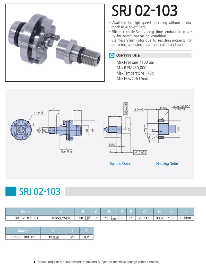 SHIN KWANG TECH SRJ 02-103