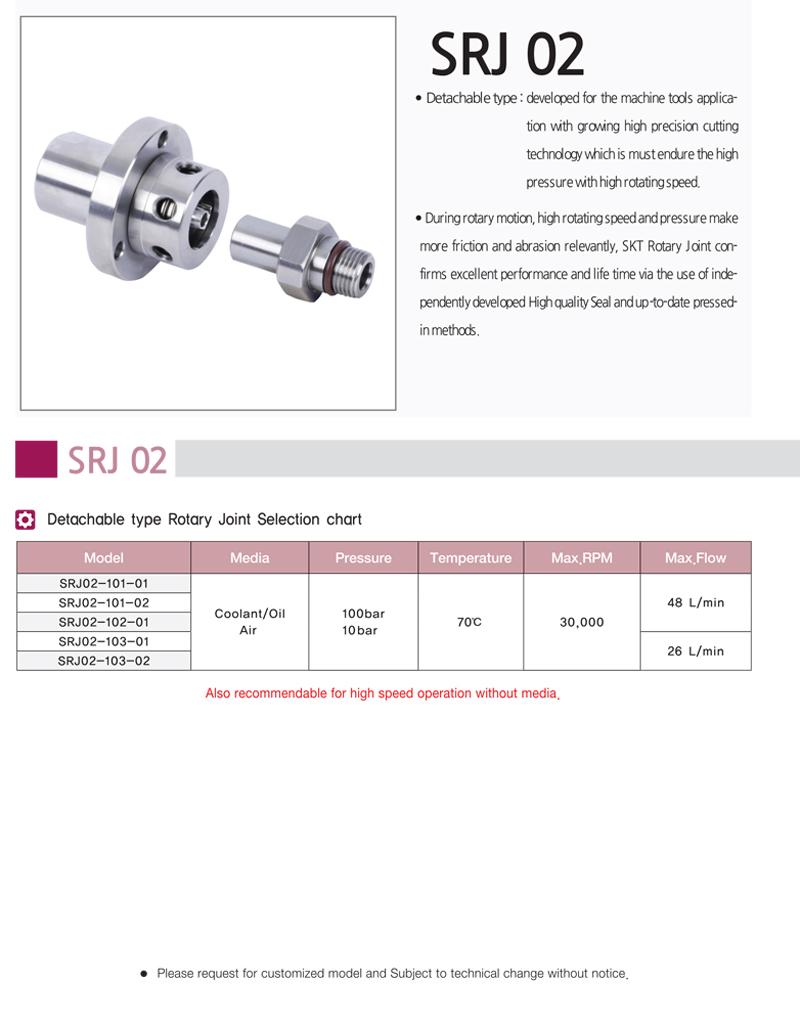 SHIN KWANG TECH Detachable type SRJ 02