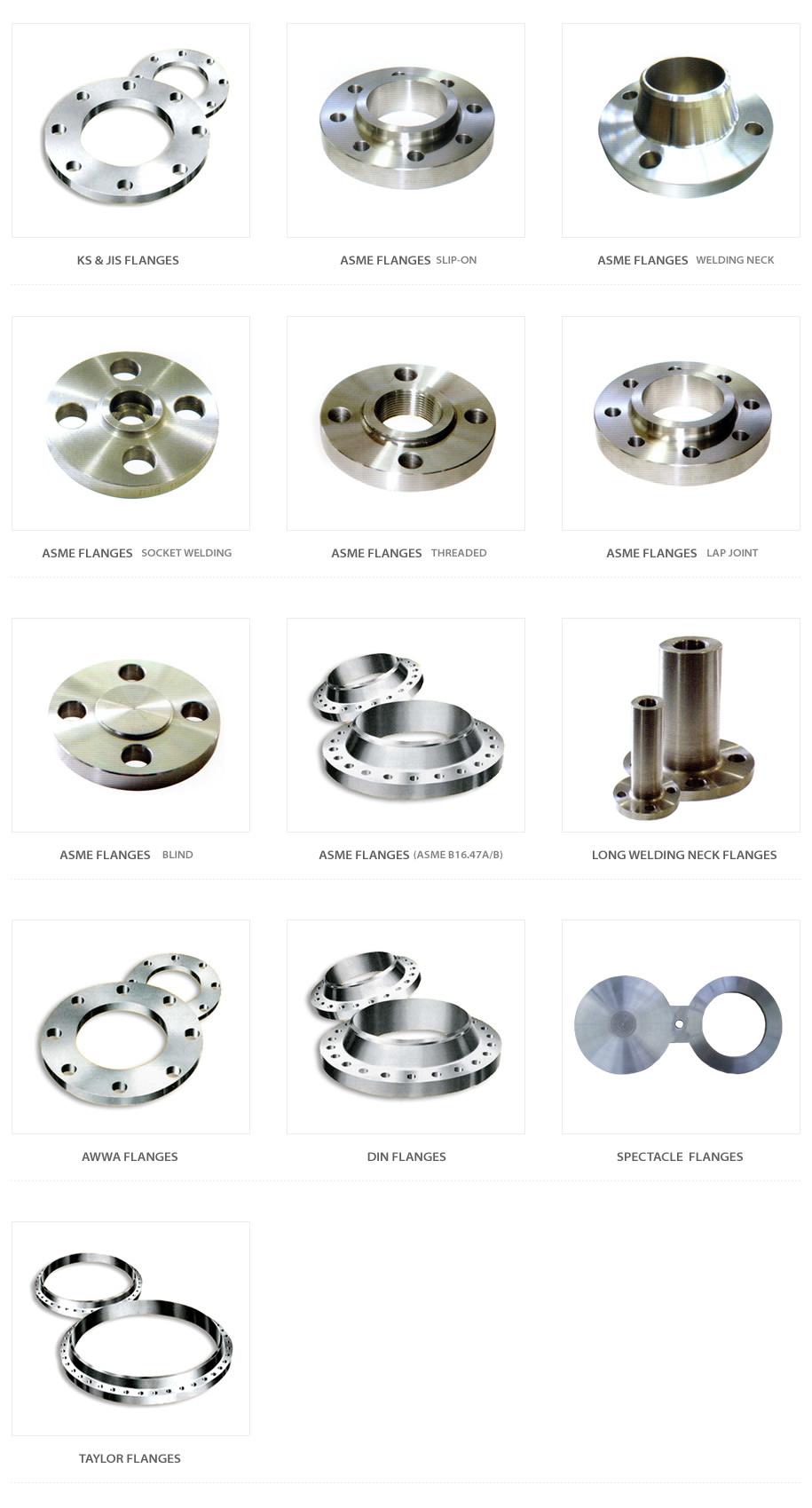 Sinwoo Metal Standard Flanges