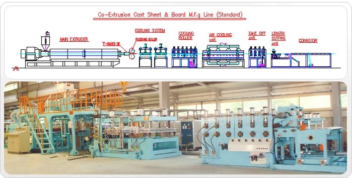SHINKWANG ENGINEERING Cast Sheet/Board M.F.G Line