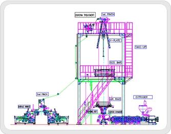 SHINKWANG ENGINEERING Single Layer Blown Film Manufacturing Line  2