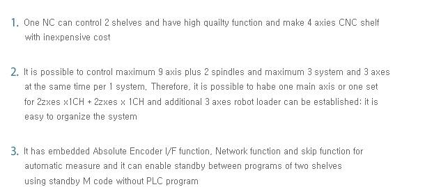 SEMI INFOTEX CNC SYSTEM CNC SENTROL 2i-LL 1