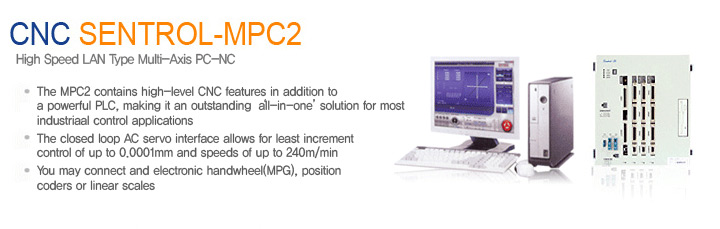 SEMI INFOTEX CNC SYSTEM CNC SENTROL-MPC2