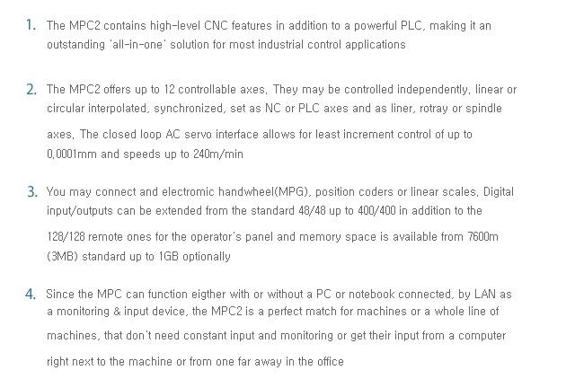 SEMI INFOTEX CNC SYSTEM CNC SENTROL-MPC2 1