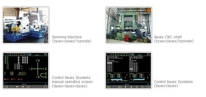SEMI INFOTEX CNC SYSTEM CNC SENTROL 2i-LL 2