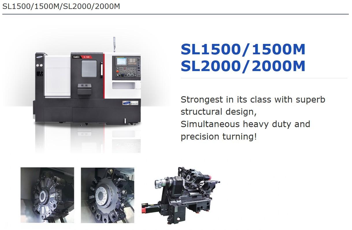SMEC CNC Lathe SL-Series