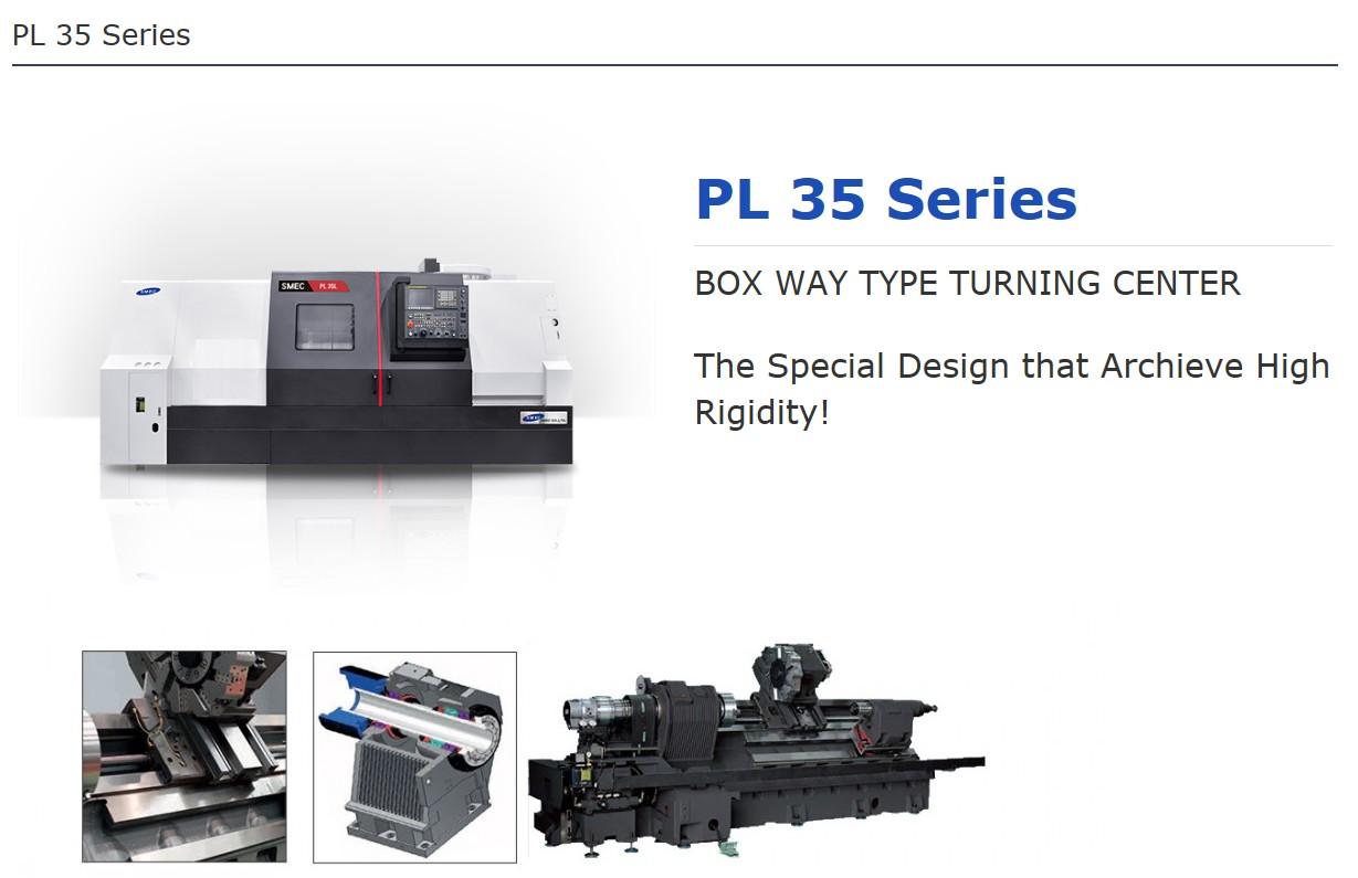 SMEC Box Way Type Turning Center PL 35 Series
