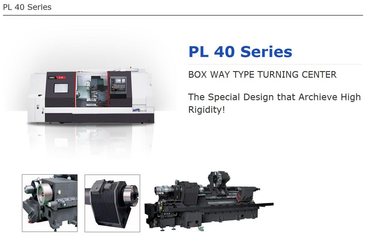 SMEC Box Way Type Turning Center PL 40 Series
