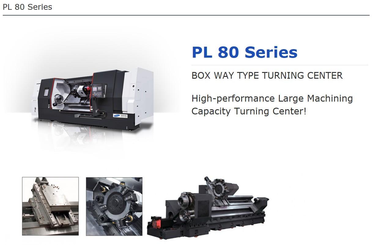 SMEC Box Way Type Turning Center PL 80 Series