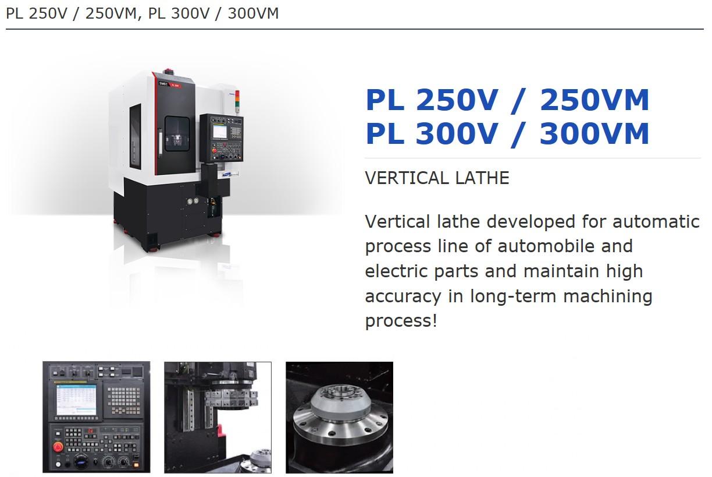 SMEC Vertical Lathe PL-Series