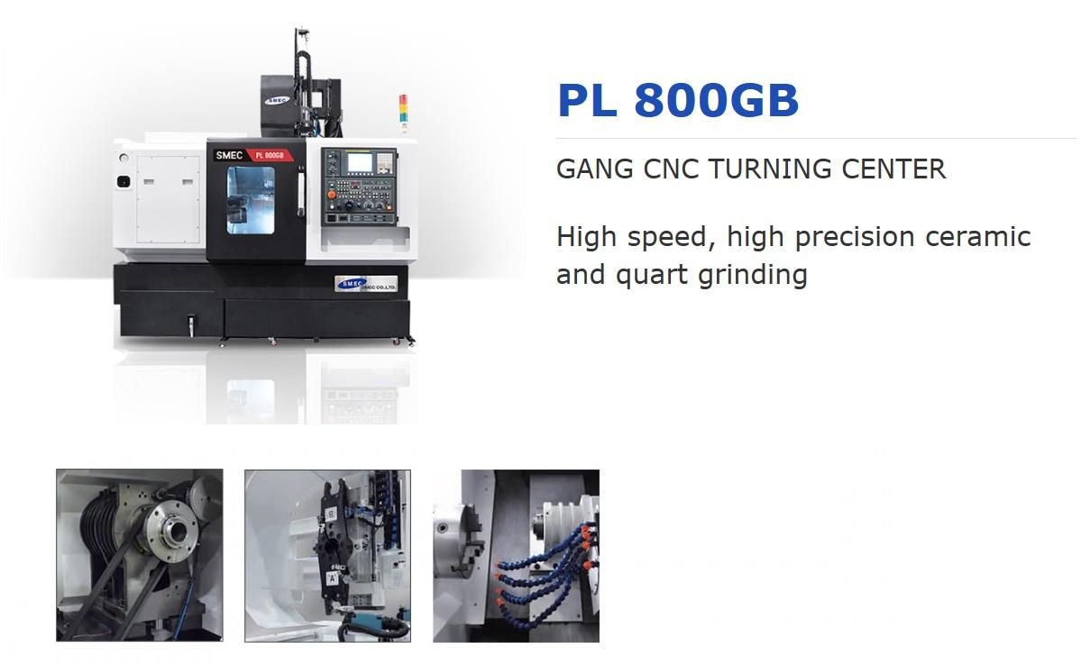 SMEC Gang CNC Turning Center PL 800GB