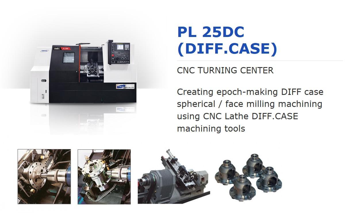 SMEC CNC Turning Center PL 25DC