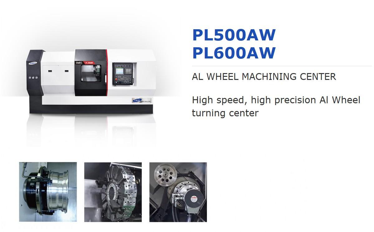 SMEC AL Wheel Turning Center PL500AW, PL600AW