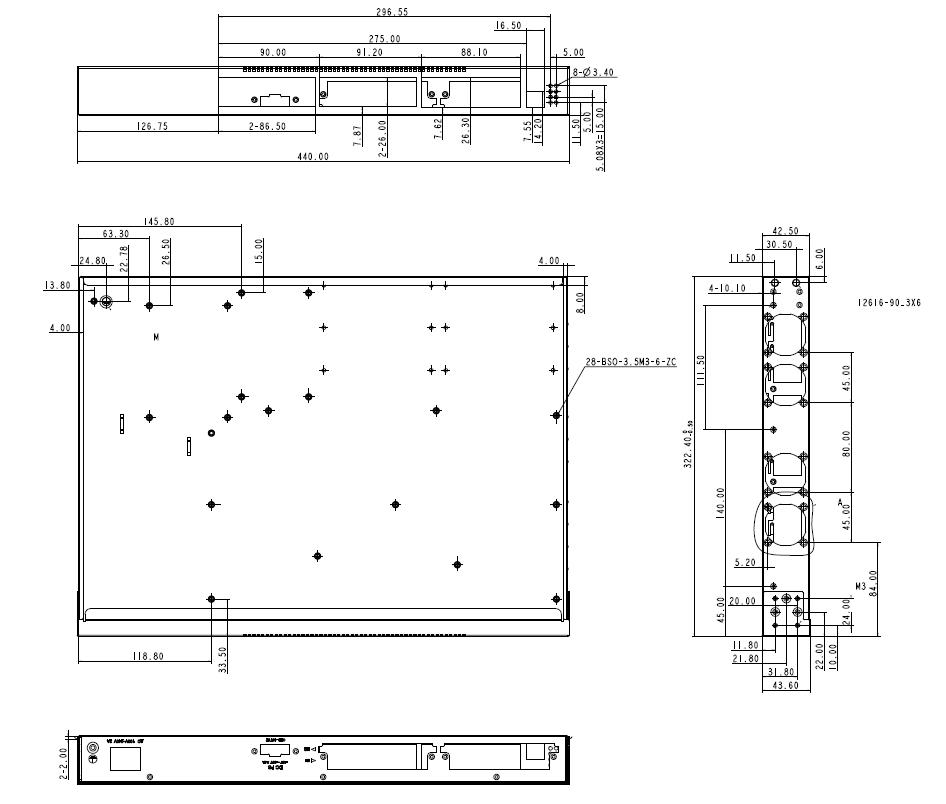(주)솔텍 L3 10G 이더넷 광스위치 SFC5000A 1