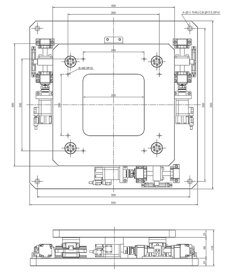 (주)오병 Standard Precision Stage SPS400 1