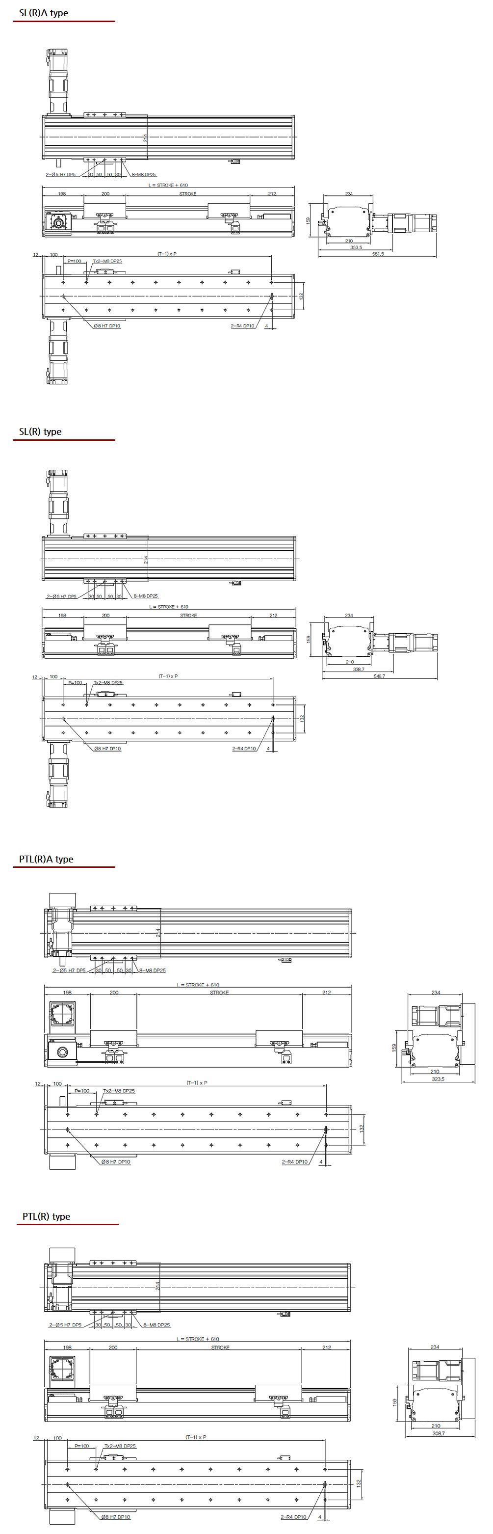 (주)오병 Standard Belt Type SBT210 1