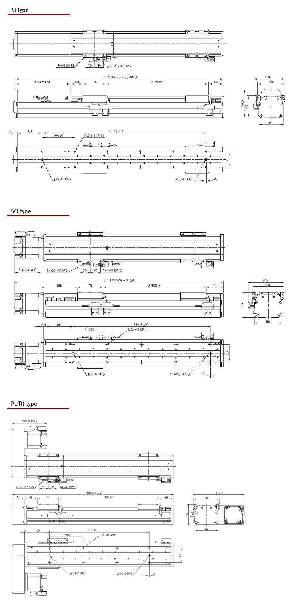 (주)오병 Standard Screw Type SST80 1