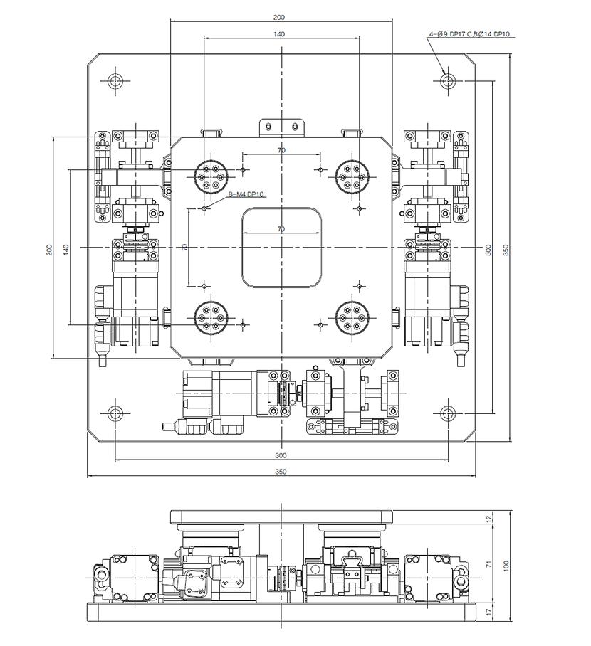 (주)오병 Standard Precision Stage SPS200 1