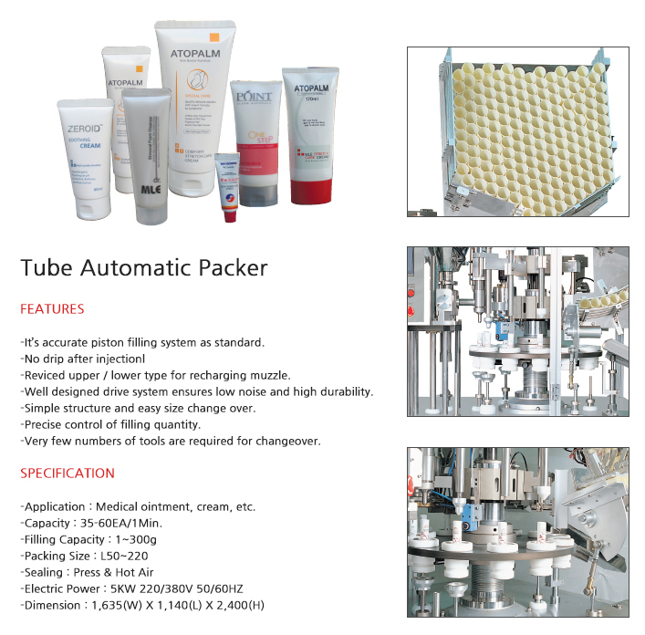 SOMA Tube Automatic Packaging Machine SM-600T