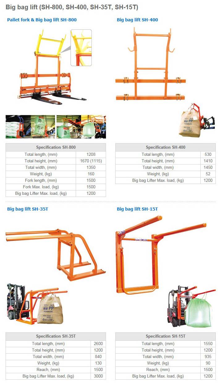 SONGHYUN Big bag lift SH-Series