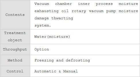 Noah Tec-Tra Co.,Ltd. Freezing Trap System