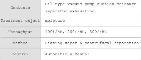 Noah Tec-Tra Co.,Ltd. Vaporizing Oil Separator