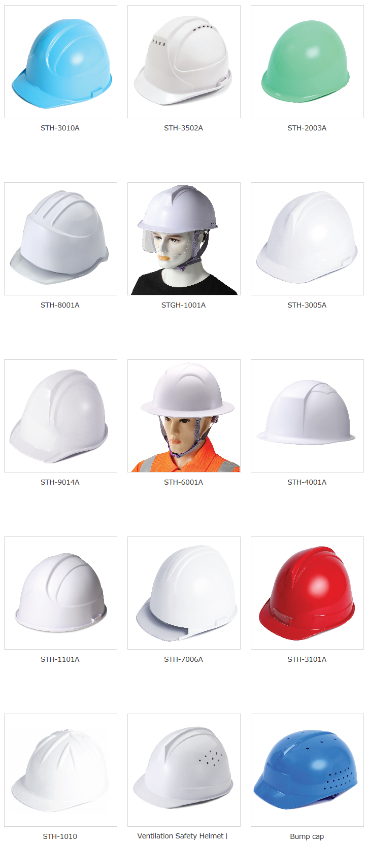 S-TOP Head Protection Products