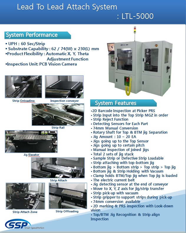 SSP Lead To Lead Attach System LTL-5000