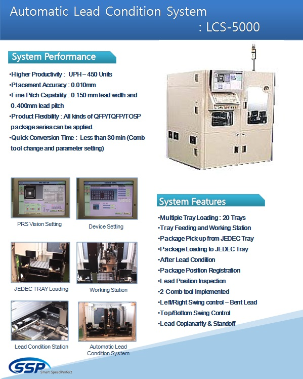 SSP Automatic Lead Condition System LCS-5000