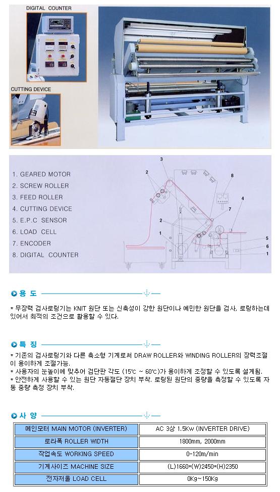 성복기계 무장력 검사로링기 SB-TI-2000 1