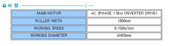 성복기계 로링기 SB-R1 1