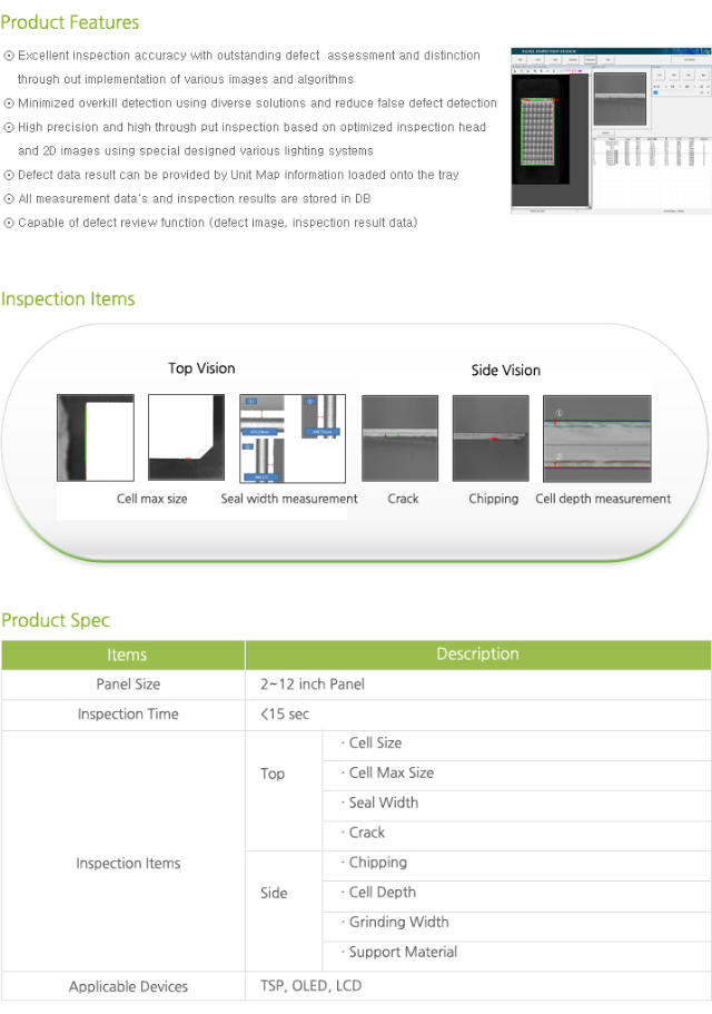 Synapse Imaging Cell Measurement & Inspection System