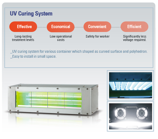 SYSTEM KOREA UV Curling Machine