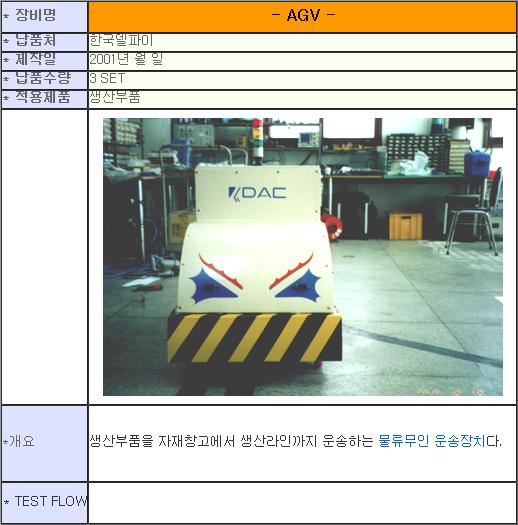 태흥산전 AGV